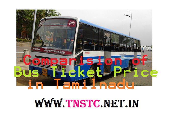 Tamilnadu bus fare hike - tnstc-net-in