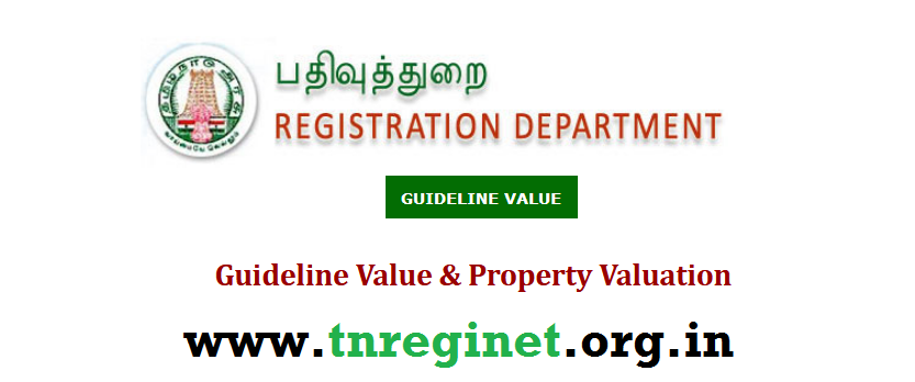 How to Check Guideline Value - tnreginet