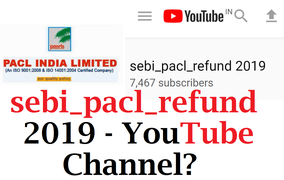 sebi_pacl_refund 2019 - YouTube Channel