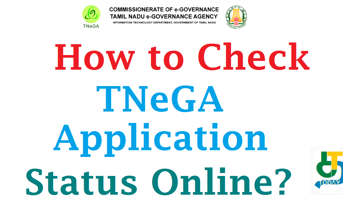 How to Check TNeGA Application Status Online