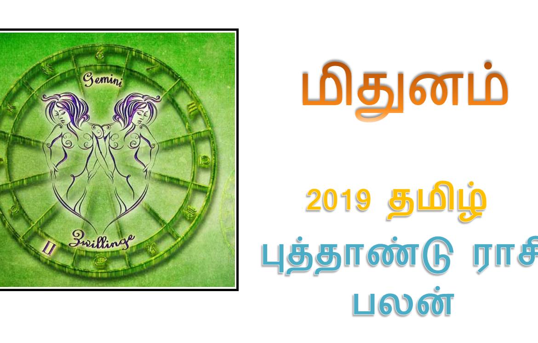 MITHUNAM - TAMIL PUTHANDU RASI PALAN - 2019-2020 - மிதுனம்