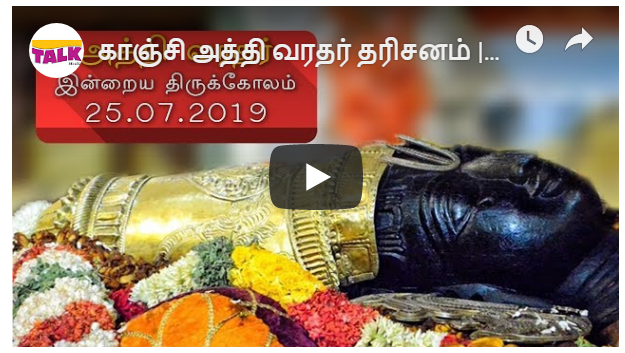 Athi Varadar Day 25 Darshan