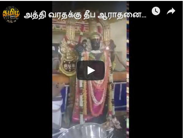 அத்தி வரதர் நேரடி வீடியோ