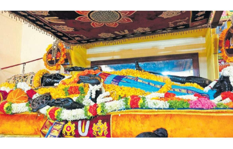 Athi Varadar Day 31 Darshan - அத்திவரதர் சயன கோல காட்சி - athi varadar day 31 image