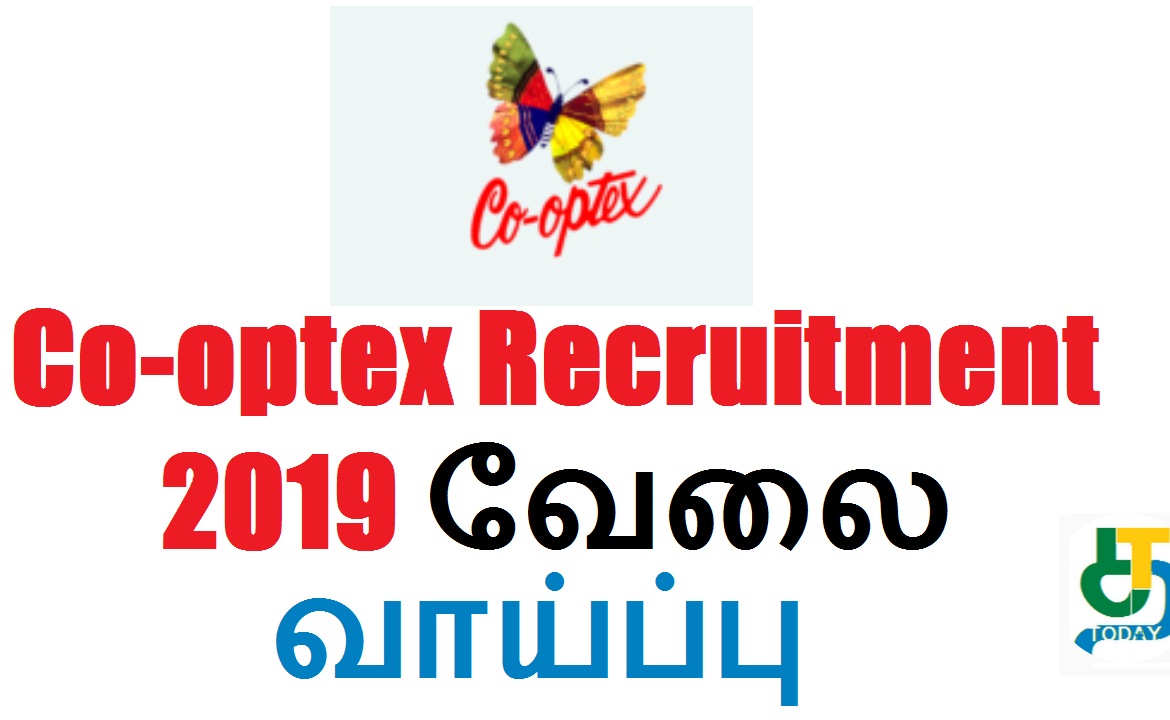 Co-optex Recruitment 2019