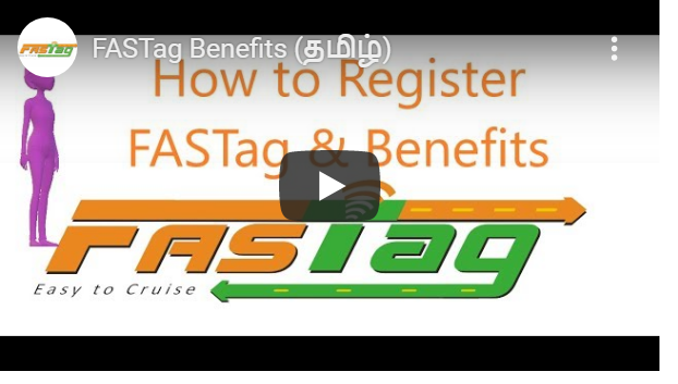 FASTag Benefits in Tamil