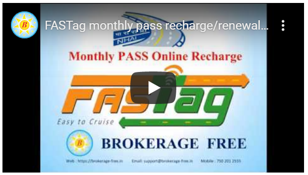 FASTag monthly pass