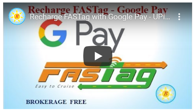 Recharge FASTag with Google Pay