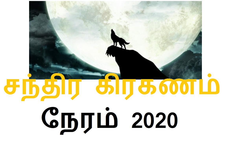 சந்திர கிரகணம் நேரம் 2020