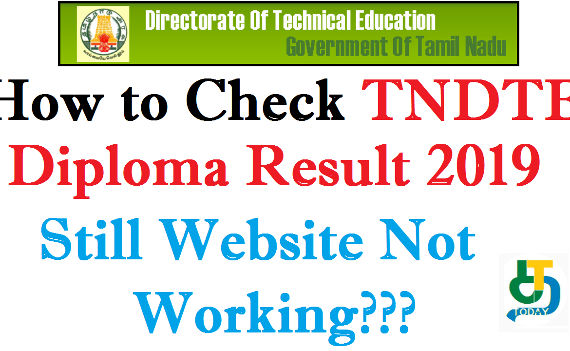 How to Check TNDTE Diploma Result 2019