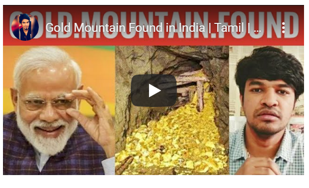 Gold Mountain Found in India