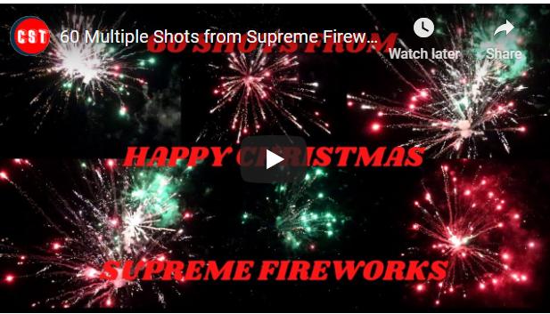 60 Multiple Shots from Supreme Fireworks