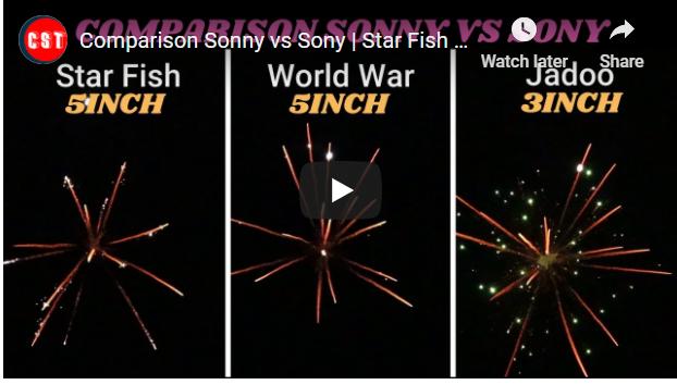 Comparison Sonny vs Sony Star Fish vs World War vs Jadoo