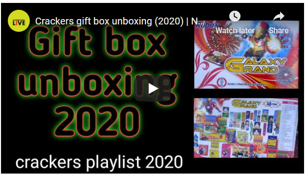 Crackers gift box unboxing (2020)
