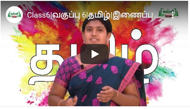 Class6 வகுப்பு 6 தமிழ் இணைப்புப்பாடப்பயிற்சி