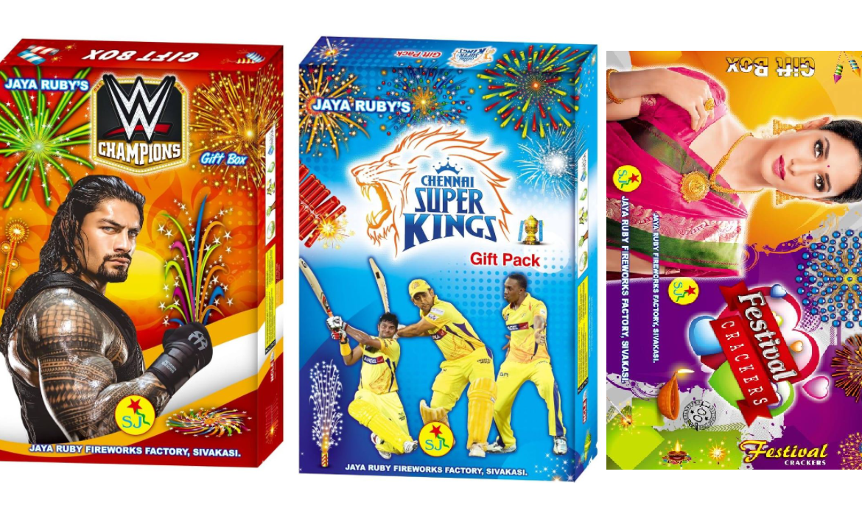 2021 Jaya Ruby Fireworks Gift Boxes