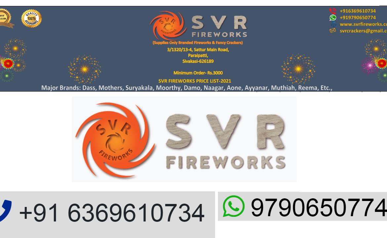 svr crackers price list 2021