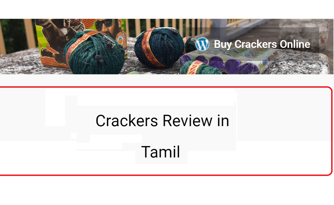 tamil crackers review 2021
