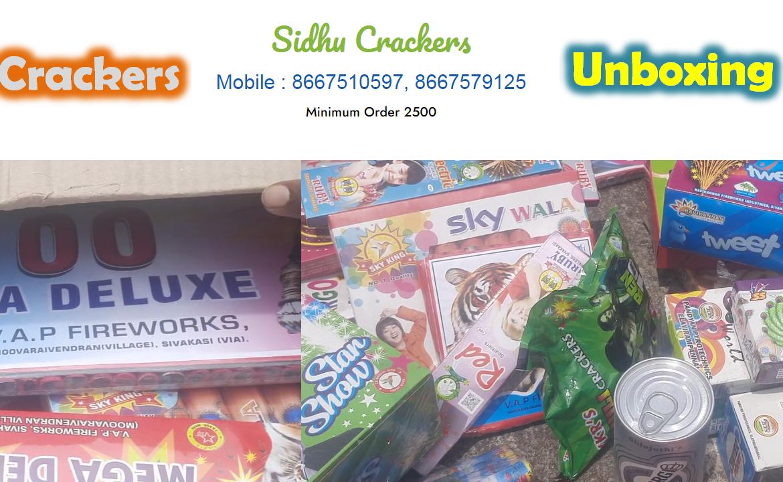 sidhu crackers unboxing