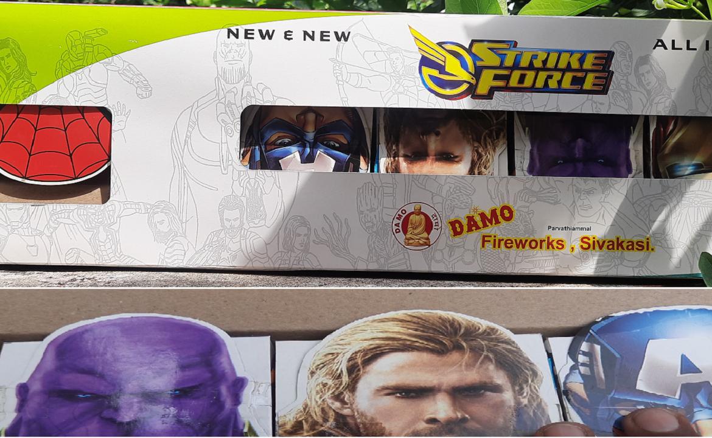 strike force damo fireworks