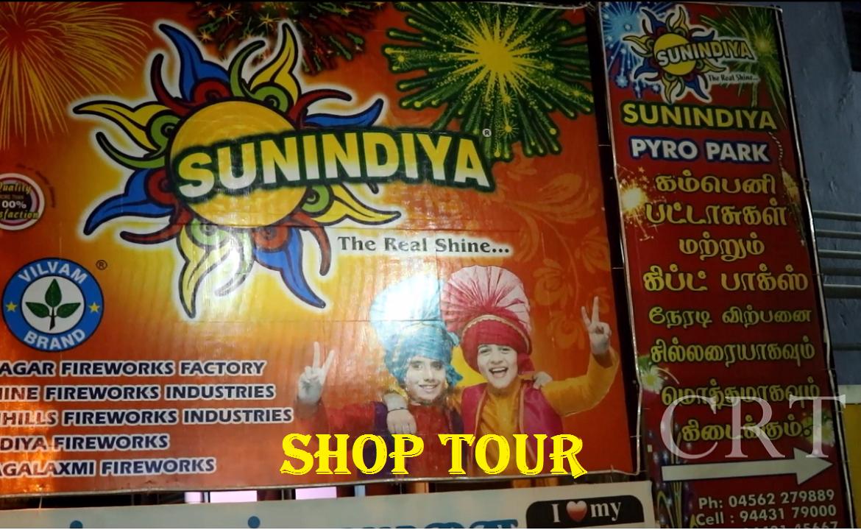 sun indya fireworks shop vlog